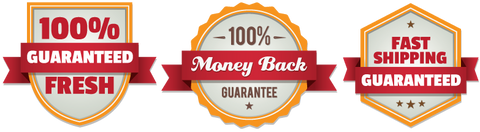 Guaranteed fresh - Money back guarantee - fast shipping