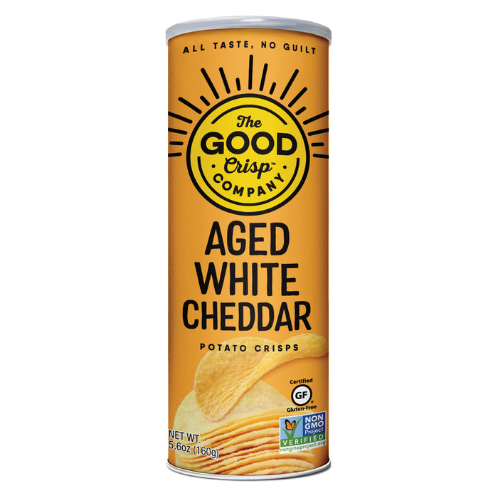 Aged White Cheddar Potato Crisps