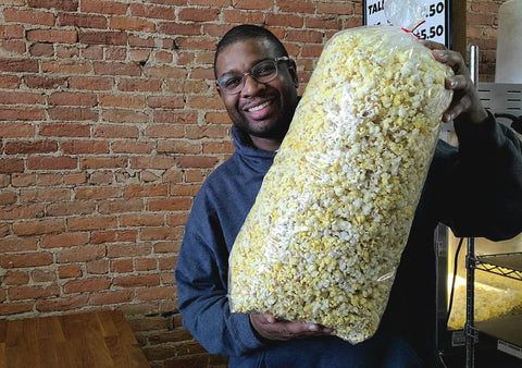 Buttery Movie Theater Popcorn - MONSTER SIZE