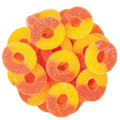 Gummy Peach Rings