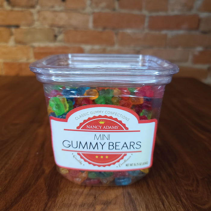 Nancy Adams Mini Gummy Bears