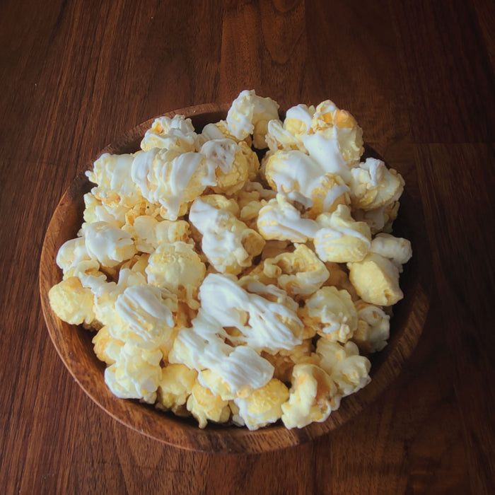 PINEAPPLE UPSIDE DOWN | CRAVINGS CHOCOLATE DRIZZLED POPCORN