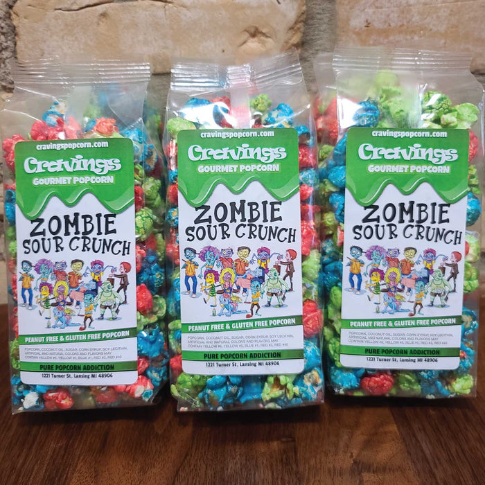 Zombie Sour Crunch 6-Pack