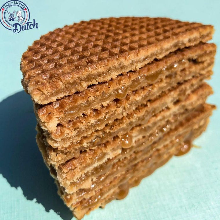 Finger Licking Dutch Caramel Stroopwafle Cookie 8-Pack