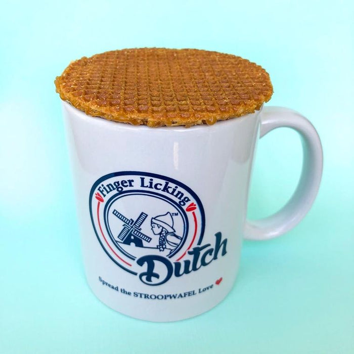 Finger Licking Dutch Caramel Filled Stroopwafel
