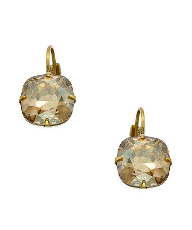 12mm Cushion Drop Earrings