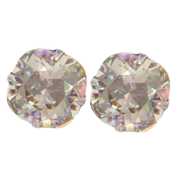 12mm Large Crystal Post Earring