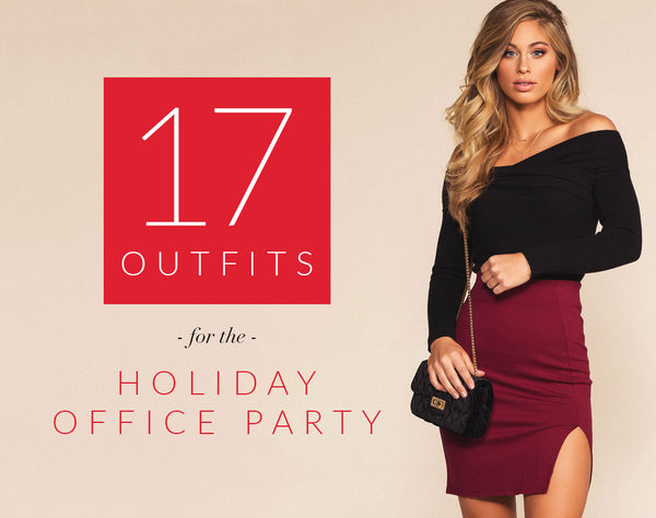 17 Outfits For The Holiday Office Party