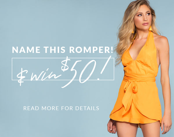 Name This Romper & Win a $50 Gift Card! (Closed)