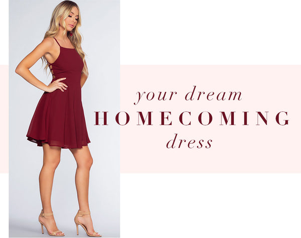 Your Dream Homecoming Dress Is Here!
