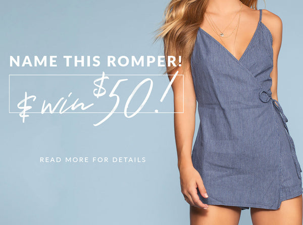 Name This Romper & Win $50! (Closed)