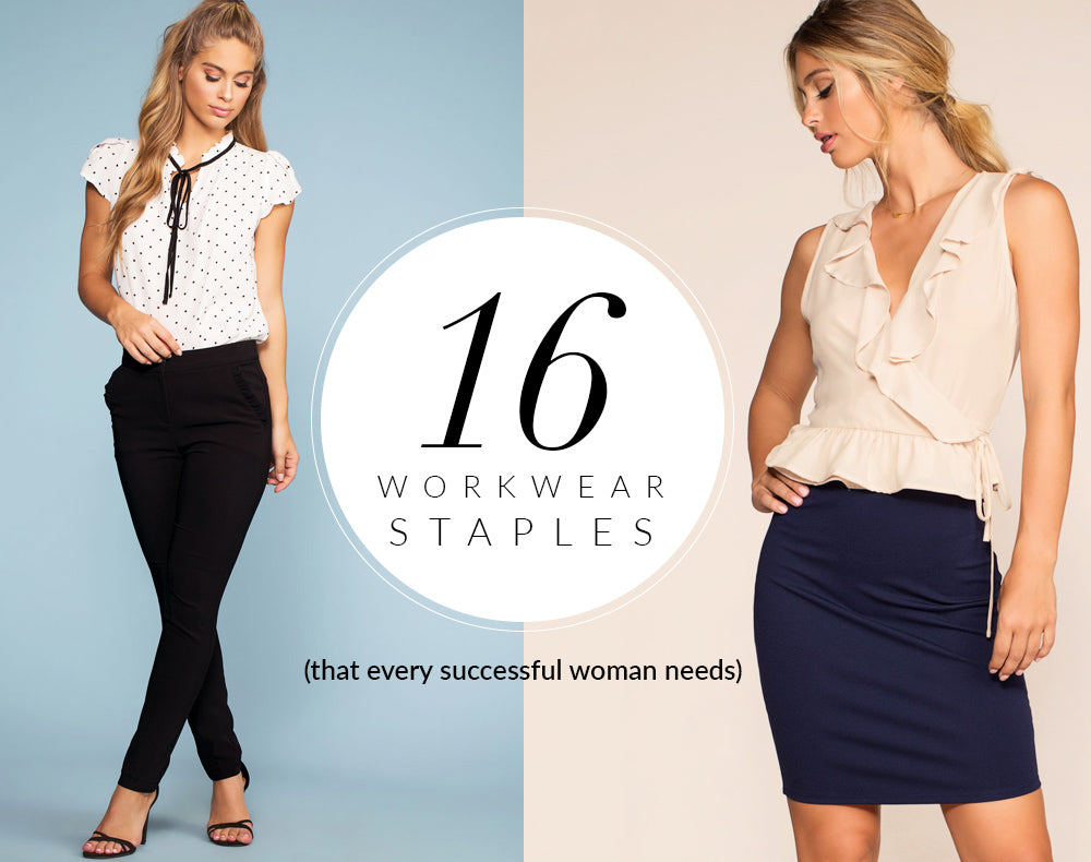 7bc67c6195ec 16 Workwear Staples Every Successful Woman Needs – Shop Priceless