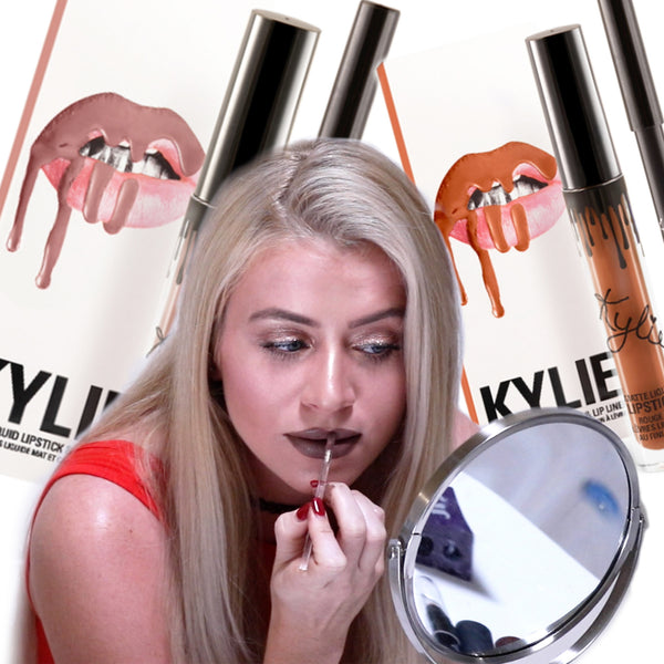 Kylie Jenner Lip Kit Try-On + Review