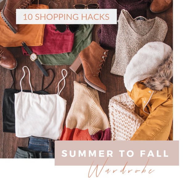10 Shopping Hacks for Fall | Priceless