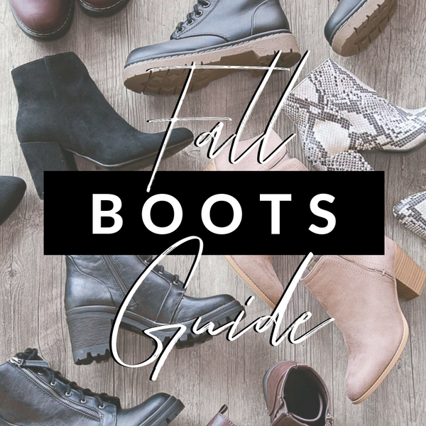 Fall Boots & How to Style Them | Fall/Winter Boot Guide | Priceless