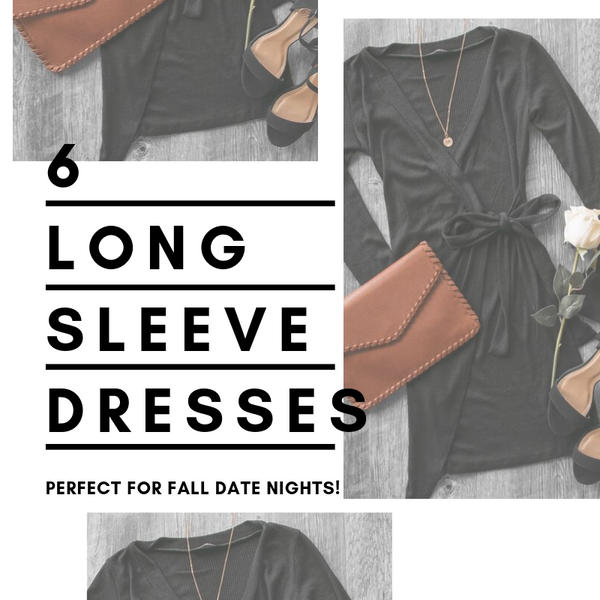 6 Long Sleeve Dresses for Fall Date Nights | Priceless