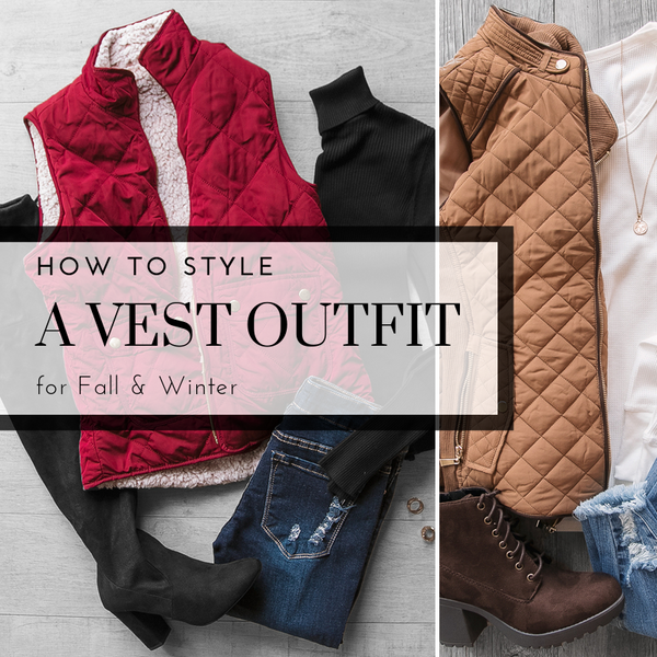 How to Style a Vest Outfit for Fall & Winter | Priceless