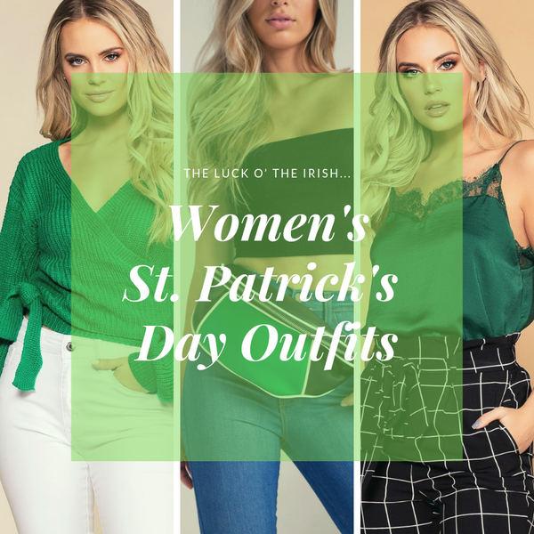 Women's Cute Green Outfits | St. Patrick's Day Accessories | Priceless