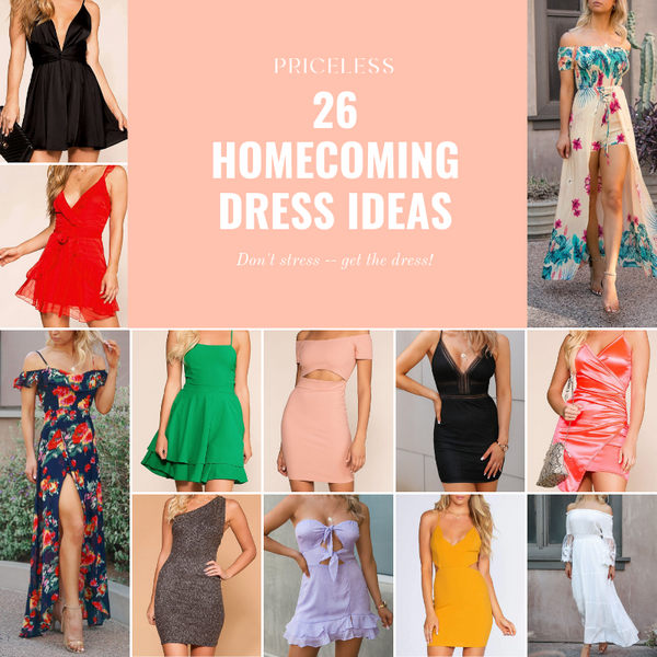26 Homecoming Dress Options, Which One?! | Priceless
