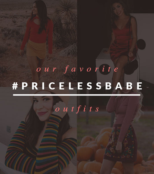 Our Fav #PricelessBabe Outfits!