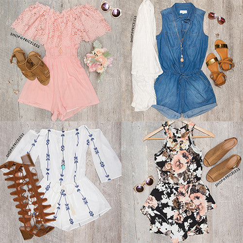 Top 15 Summer Rompers!