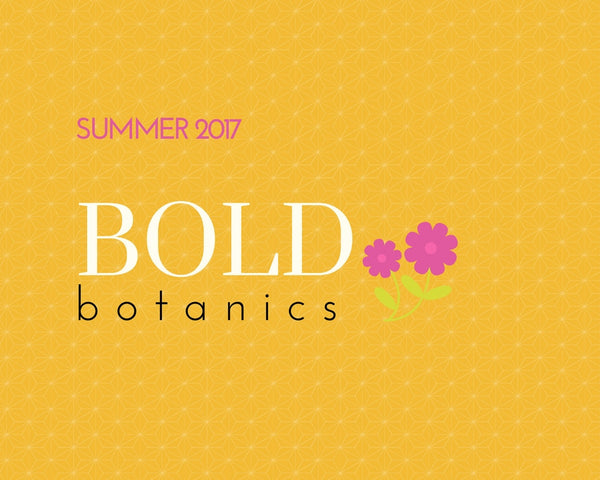 BOLD Botanics are here!🌸