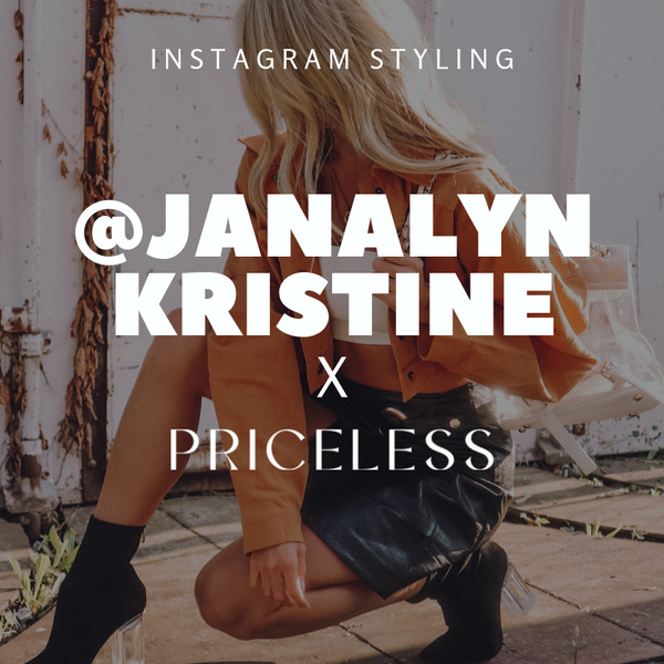 @janalynkristine x Shop Priceless | Instagram Styling | Priceless