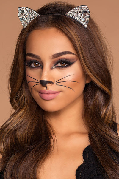Simple Sexy Kitty Cat Halloween Costume Shop Priceless - Cat-costume-makeup
