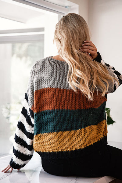 Holland Colorblock Sweater