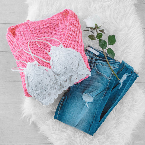 Pink Sweater | Womens