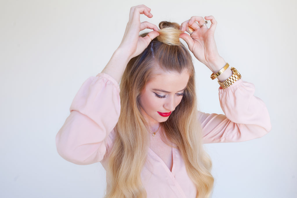 3 Easy Top Knots Buns Shop Priceless