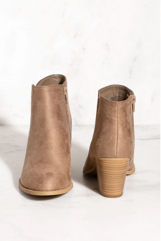 Robyn Taupe Booties