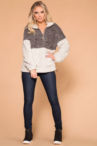 priceless-warm-and-toasty-charcoal-sherpa-tunic-pullover-top