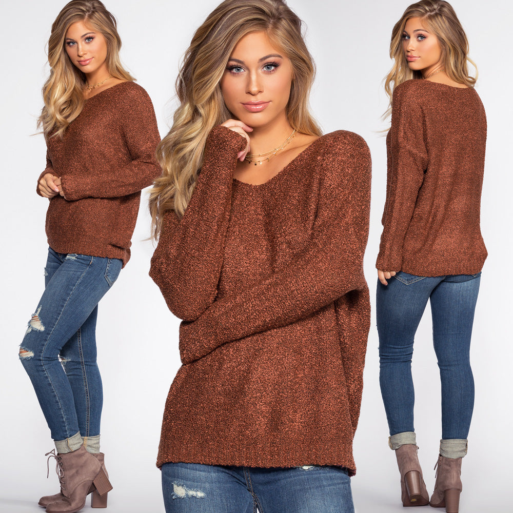 This sweater is asked for time and time again, and we definitely understand  why! The Wonder Girl comes in three dreamy colors, brick, burgundy,