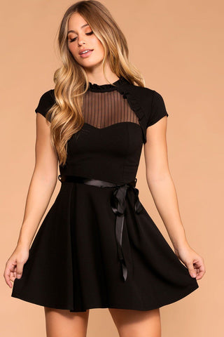 Roxy Dress - Black