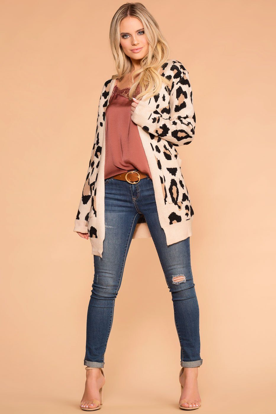 Priceless | Leopard Cardigan | Print Cardigan | Womens