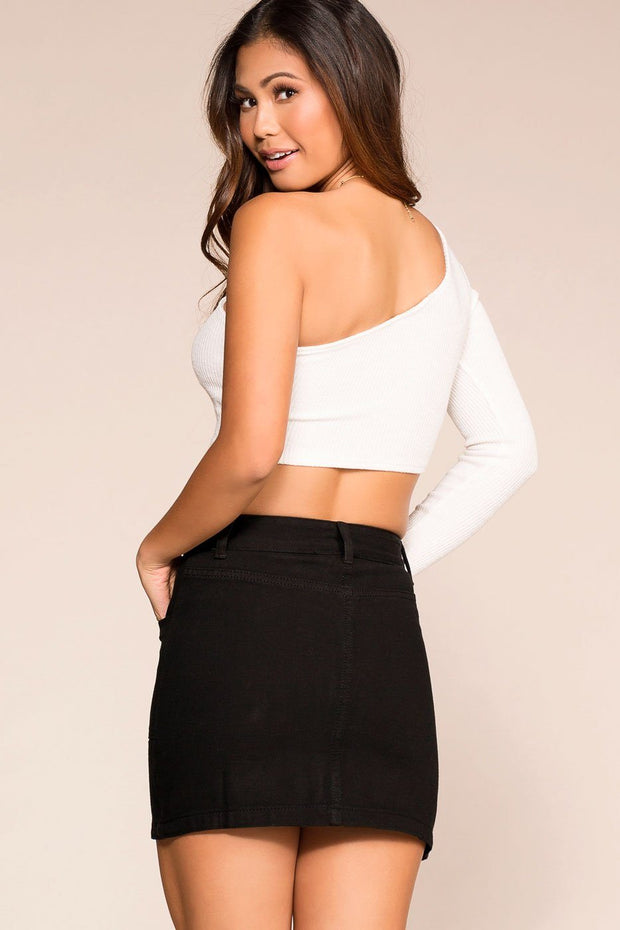 Priceless | Black | Mini Skirt | Womens