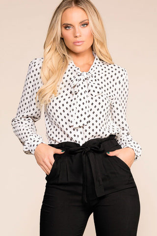 Margaret Rust Button Off The Shoulder Button Crop Top