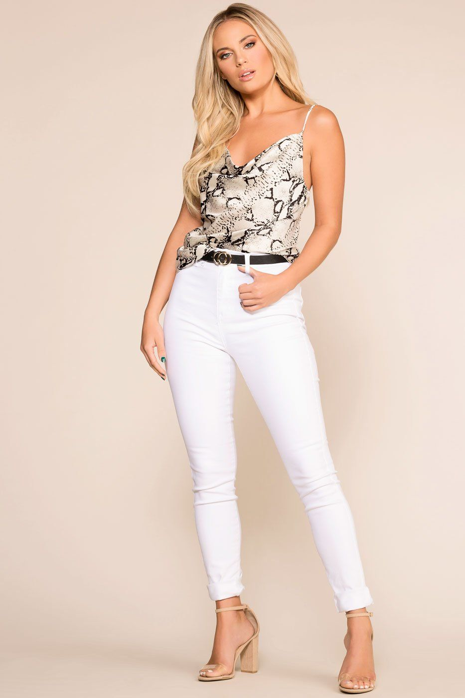 79de887e0 New Beginnings White Skinny Jeans