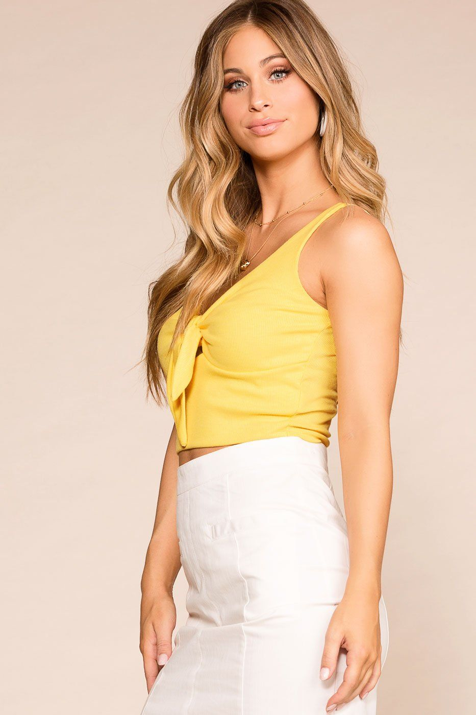 Priceless | Yellow | Crop Top | Womens