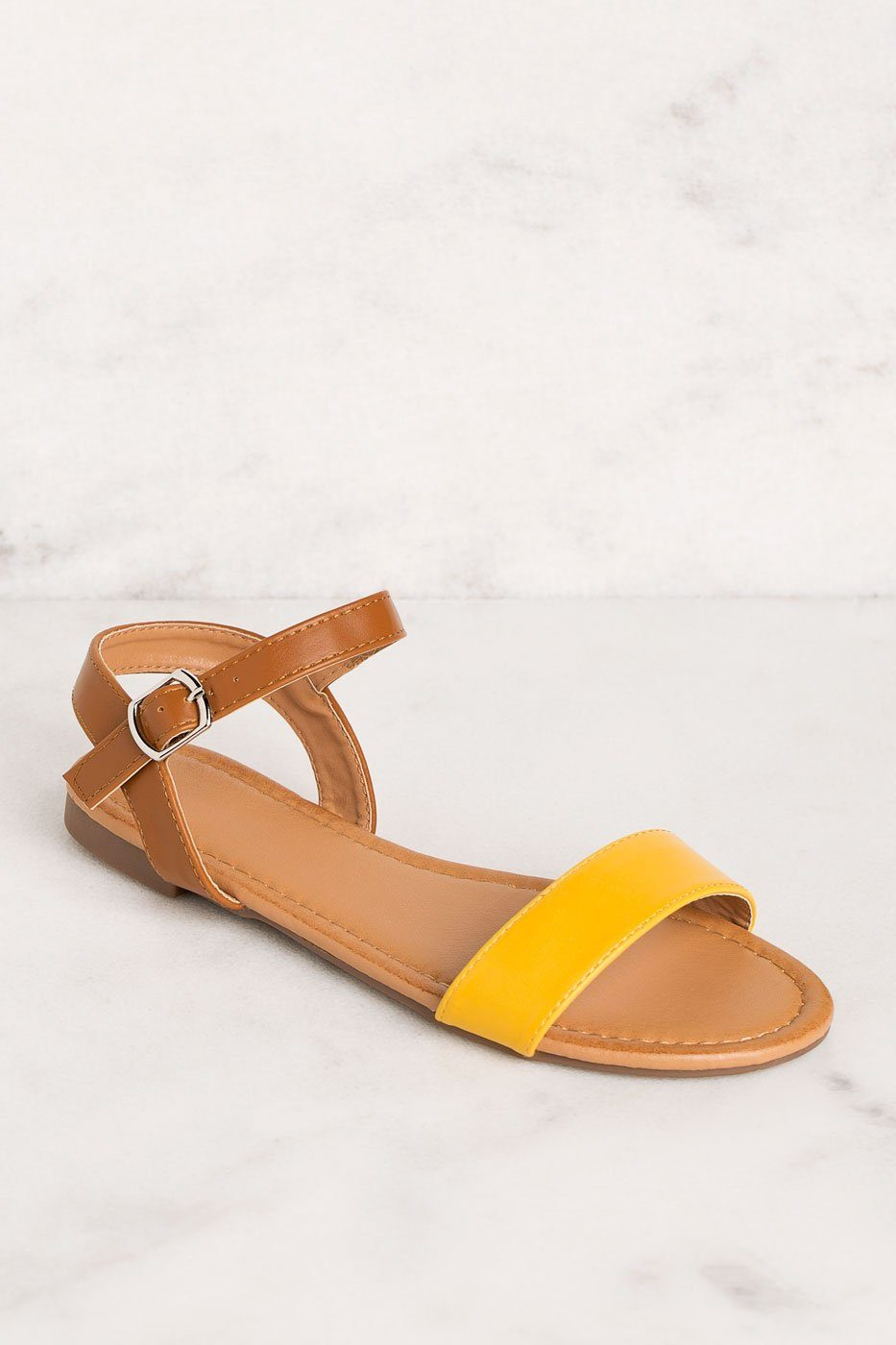 Priceless | Mustard | Sandals | Shoes | Womens