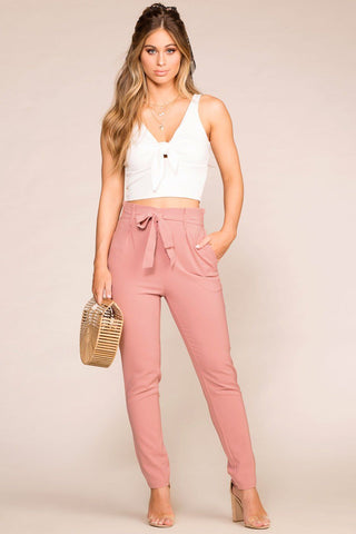 Merideth Blush Low Block Heels