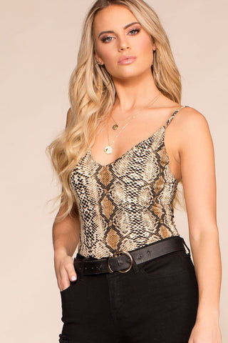 Ainsley Off The Shoulder Top - Honey