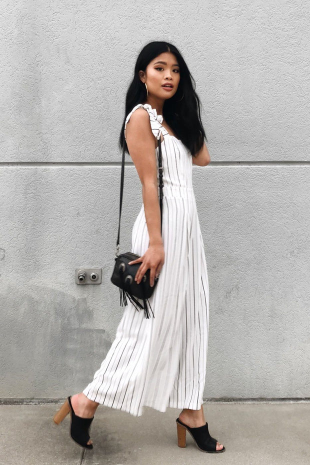 Silva Striped Culottes
