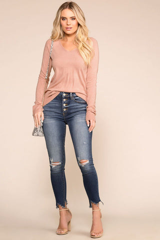 Lazy Days Top - Mustard