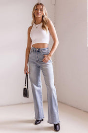Astley High Waisted Denim Jeans