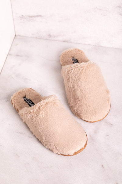 Beige Slippers