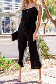 Audrey Black Jumpsuit