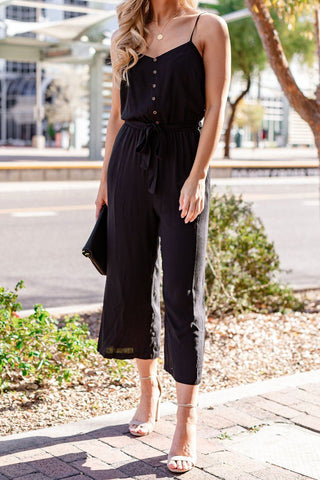 Fawn Striped Jumpsuit