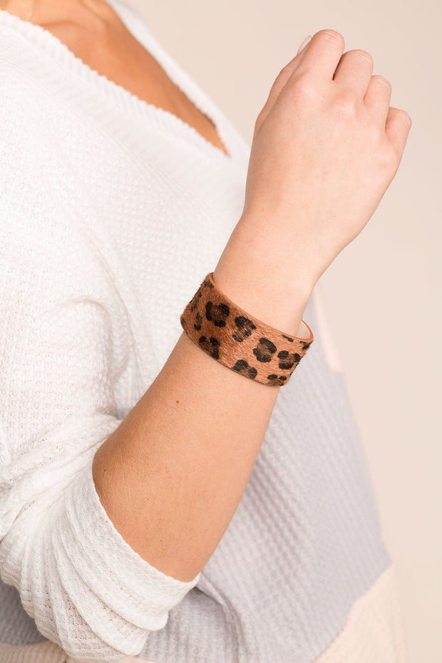 Priceless | Leopard | Cuff Bracelet | Accessories | Womens